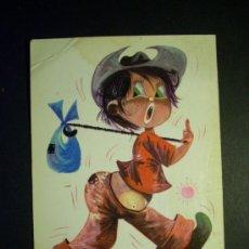 Postales: 2003 DIBUJO PICTURE FELIZ VIAJE PIEDRABUENA NIÑO CHILDREN POSTCARD POSTAL AÑOS 70 TENGO MAS POSTALES. Lote 36148483