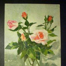 Postales: 7955 DIBUJO PICTURE Y. DUJARDIN FLORES FLOWERS FLOR FLOWER POSTCARD AÑOS 60/70 - TENGO MAS POSTALES. Lote 36526103