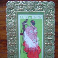 Postales: CARTEL DE ANIS DEL MONO DE RAMON CASAS - VICENTE BOSCH - BADALONA (VER IMAGEN) . Lote 37040031