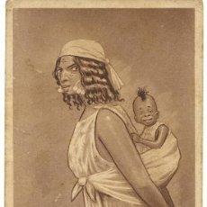 Postales: POSTAL EDICIONES D. MULLOR.-MELILLA 1921.-Nº2.-MADRE MORA. Lote 37145591