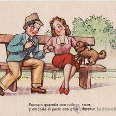 Postales: POSTAL FELICITACIÓN -- ESCRITA FECHADA 1945. Lote 37250257
