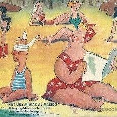 Postales: 2035E - ESTAMPERIA RAM SERIE 45 - HAY QUE MIMAR AL MARIDO- DATA 1949 - ILUSTRA MUNTAÑOLA. Lote 37909364