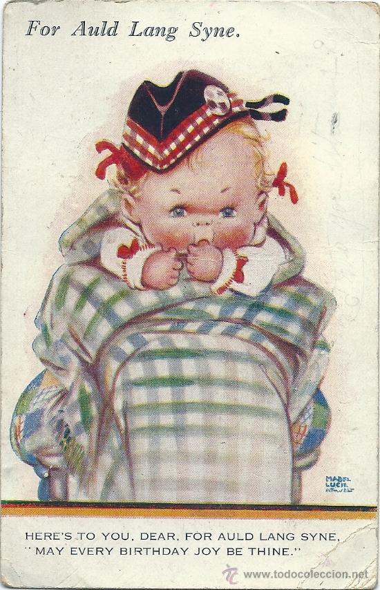 2015E -VALENTINE'S ATTWELL - SERIE G - CIRCULADA EN 1931 - ILUSTRA -MABEL LUCIE ATTWELL. (Postales - Dibujos y Caricaturas)