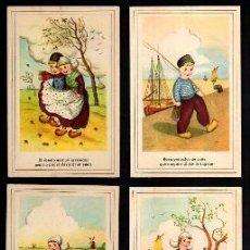 Postales: 10 POSTALES INFANTILES . EDICIONES CMB. NO CIRCULADAS.. Lote 38433334