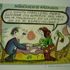 Postales: POSTAL HUMOR LOTERIA - DIBUJO PABLO . Lote 38504561