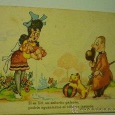 Postales: POSTAL HUMOR.- CMB SERIE 89 -ESCRITA DIBUJO OSCAR DANIEL. Lote 38574900
