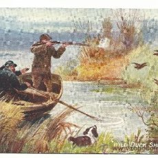 Postales: POSTAL RAPHAEL TUCK & SONS OILETTE.-WITH DOG AND GUN.- Nº 9273. Lote 38913301