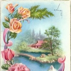 Postales: 4585 EDICIONES CYZ SERIE 532.B - DATA 1962 - ILUSTRA VIVES. Lote 39118236