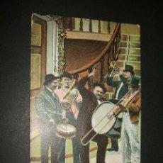 Postales: MUSICOS COMICOS ANTIGUA POSTAL 1907. Lote 39169101