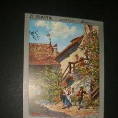 Postales: POSTAL 1903 ILUSTRADA TIROLESES. Lote 39169191
