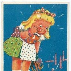Postales: 4819 - IKON EDICIONES DE ARTE - SERIE 32 - CIRCULADA EN 1942 - ILUSTRA GRAUS. Lote 39242211