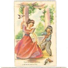 Postales: 2 POSTALES - EDICIONES COLON POLITIPIA ARTISTICA BENISI - SERIE 116/1 T 133/8 - AÑOS 40. Lote 39449014