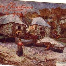 Postales: PAISAJE - HAPPY CHRISTMAS - POST CARD. Lote 39475916