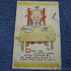 Postales: POSTAL ANTIGUA: POST CARD.- VALENTINE'S .DESLUCIDA.1539.- MABEL LUCIE ATTWELL.- DUNDEE AND LONDON. Lote 39531539