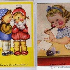 Postales: 2 POSTALES ILUSTRADAS. ILUSTRADOR MENENE SERIE III P. ESPERON Y POSTALES BEA SERIE III. Lote 39556241