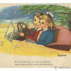 Postales: POSTAL EDITORIAL ARTIGAS / IKON.-MELODIAS DE BOGA.-SERIE 67.-COLECCION D. Lote 40306599