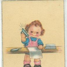 Postales: POSTAL EDICIONES COLON .- SERIE 522 / 3.- FELICIDADES. Lote 40672452