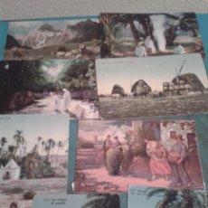 Postales: 8 POSTALES COSTUMBRISTAS. DIBUJOS DE EPOCA.. Lote 40836491