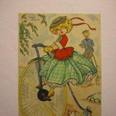 Postales: POSTAL MARIA CLARET COLECCION MARIA CLARET SERIE LL Nº4 I.G.VALVERDE AÑO 1944. Lote 40878871
