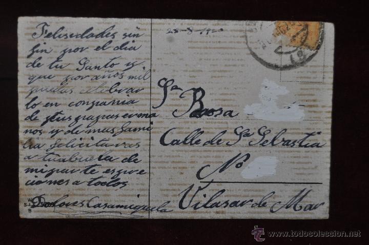 Postales: POSTAL ILUSTRADA POR MANNI GROSZE. SERIE SILUETAS - Foto 2 - 41057000