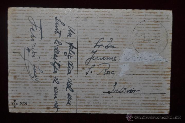 Postales: POSTAL ILUSTRADA POR MANNI GROSZE. SERIE SILUETAS - Foto 2 - 41057137