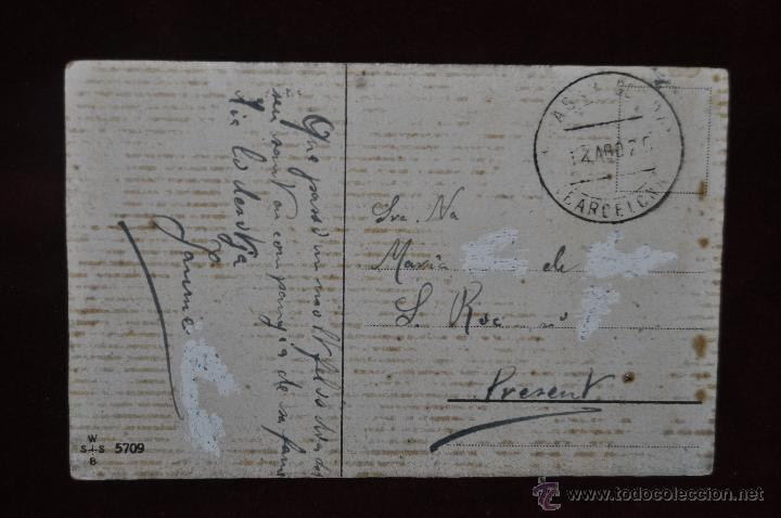 Postales: POSTAL ILUSTRADA POR MANNI GROSZE. SERIE SILUETAS - Foto 2 - 41057158