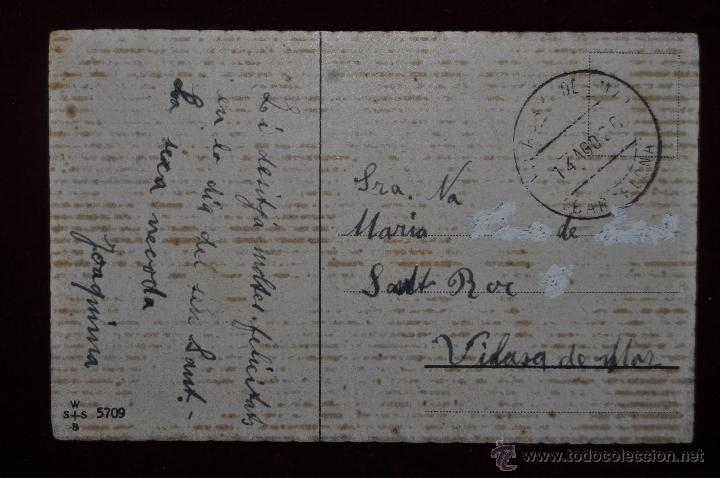 Postales: POSTAL ILUSTRADA POR MANNI GROSZE. SERIE SILUETAS - Foto 2 - 41057171