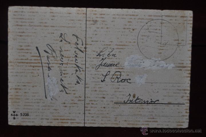 Postales: POSTAL ILUSTRADA POR MANNI GROSZE. SERIE SILUETAS - Foto 2 - 41057036