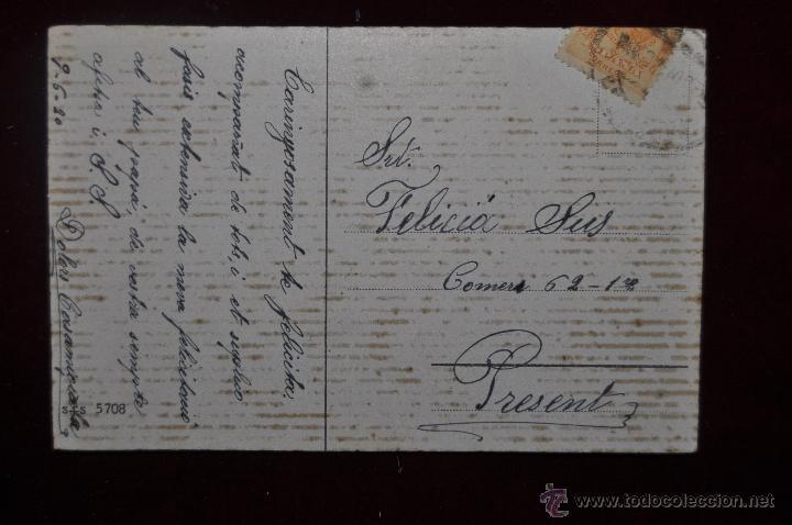 Postales: POSTAL ILUSTRADA POR MANNI GROSZE. SERIE SILUETAS - Foto 2 - 41057212