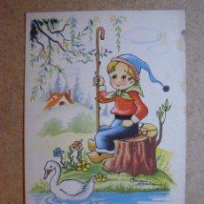 Postales: ANTIGUA POSTAL - CARICATURA CÓMICA - ESTAMPERIA RAM -SERIE 69- BARCELONA - NUEVA SIN ESCRIBIR - . Lote 41157564