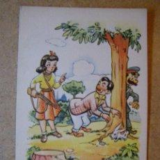 Postales: ANTIGUA POSTAL - CARICATURA CÓMICA - ESTAMPERIA RAM -SERIE 60 - BARCELONA - NUEVA SIN ESCRIBIR - . Lote 41158113