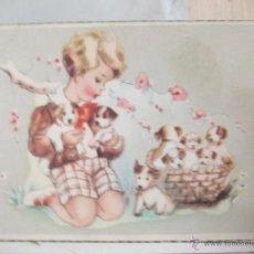 Postales: ANTIGUA POSTAL DIBUJO. AÑO 1955. Lote 41193939