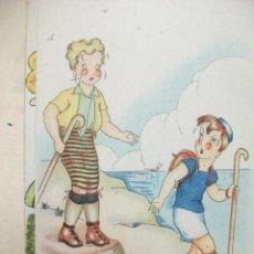 Postales: ANTIGUA POSTAL DIBUJO. AÑO 1955. Lote 41193951