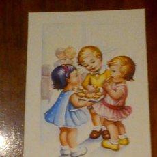 Postales: POSTAL ILUSTRADA NIÑOS - GIRONA - MUY BUEN ESTADO - ESCRITA, NO CIRCULADA 2347/F. Lote 41346717