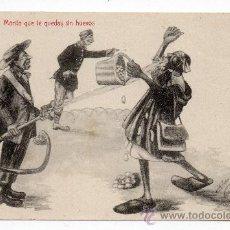 Postales: MORITO QUE TE QUEDAS SIN HUEVOS. ESCRITA EL 16 DE JUNIO DE 1919.. Lote 41669119