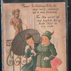 Cartes Postales: TARJETA POSTAL HUMORISTICA. REPRODUCION INTERDITE.. Lote 42495988