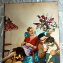 Postales: ANTIGUA POSTAL - DIBUJOS - ESCENA FAMILIAR - ESCRITA. Lote 42518512