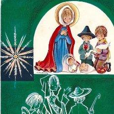 Postales: 0676F - ROSER PUIG - EDICIONES SABADELL SERIE MIRACLE 02.04.077.2 - DIPTICA 16,7X11,5 CM- DATA 1969. Lote 42694632
