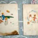 Postales: R 7 LOTE 2 SOBRES RECUERDO / RECORDATORIO BAUTIZO - AÑO 1962 - COLECCIONISMO. Lote 42699219