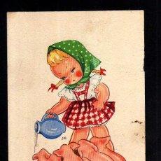 Postales: POSTAL INFANTIL. CIRCULADA 1944. EXCLUSIVAS SANTA CRUZ. . Lote 42720460