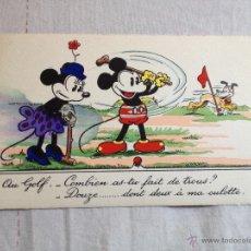 Postales: POSTAL FRANCESA COLECCIÓN WALT DISNEY MICKEY MOUSE S.A.. Lote 43273658