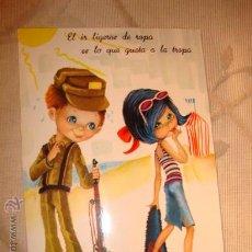 Postales: ANTIGUA POSTAL DIBUJOS, MILITAR, AÑOS 60/70.. Lote 16098199