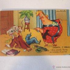 Postales: POSTAL *MUNTAÑOLA* CASATE... Y VERAS !! - 1945 ESCRITA. Lote 43935605
