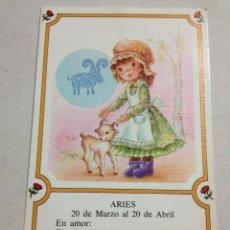 Postales: POSTAL HOROSCOPO, ARIES.. Lote 43965704