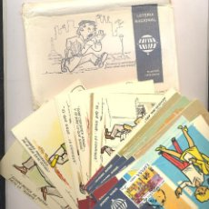 Postales: COLECCION POSTALES LOTERIA NACIONAL 24 POSTALES. Lote 44242439