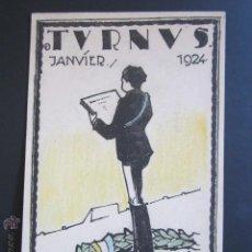 Postales: POSTAL TVRNVS. JANVIER. 1924. . Lote 44368565