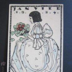 Postales: POSTAL TVRNVS. JANVIER. 1924. . Lote 44368571