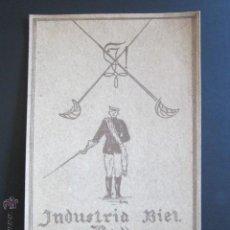 Postales: POSTAL INDUSTRIA BIEL BALL. MOGGLINGEN. DEZ. 1923. . Lote 44368658