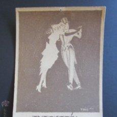 Postales: POSTAL INDUSTRIA BIEL BALL. BALL IM WINTER. SEM 1922/23. . Lote 44368671