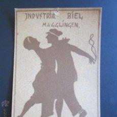 Postales: POSTAL INDUSTRIA BIEL BALL. MAGGLINGEN. 1923. . Lote 44368685